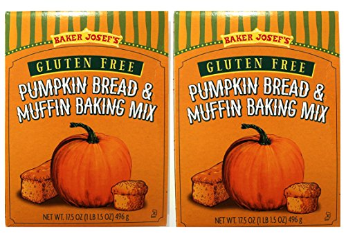 Trader Joe's GLUTEN FREE Pumpkin Bread & Muffin Baking Mix ( 2 PACK)