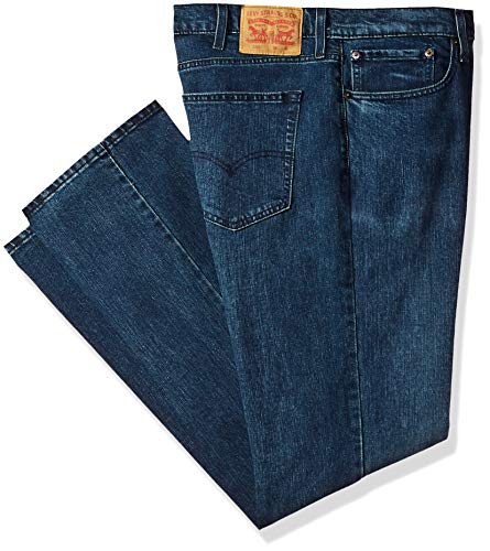 Levi's Men's Big and Tall 559 Relaxed Straight Jeans, Ink Jet, 38W x 36L