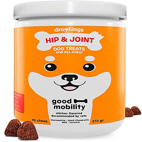 Droolings integratore articolazioni cane - integratori per cani, antinfiammatorio e vitamine