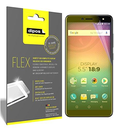dipos I 3X Schutzfolie 100prozent kompatibel mit Allview V3 Viper Folie (Vollständige Bildschirmabdeckung) Bildschirmschutzfolie