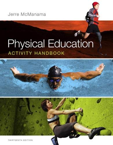 Compare Textbook Prices for Physical Education Activity Handbook 13 Edition ISBN 8601421880176 by McManama, Jerre