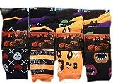 6 Pairs Of Ladies Socks Womens Socks Girls Colourful Happy Halloween Party Design Socks UK Shoe...