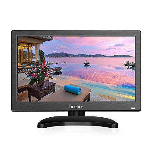 11.6 Zoll Tragbar Monitor HD 1366x768 Display Tragbarer CCTV-Monitor Klein Portable HDMI Monitor Eingebauter Lautsprecher mit HDMI-VGA-AV-BNC-Anschluss, Prechen