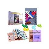 Wisdom Pyramid Puzzle Toys Smart Pyramid 432 de descuento / Código cuadrado 864 de descuento Juguetes de desafío Juguetes educativos de aprendizaje temprano para niños de 3 años en adelante Juguetes e