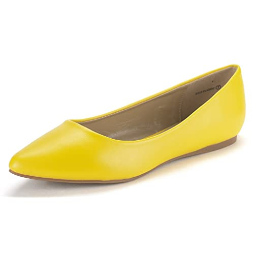 2b3ef4d4b78 DREAM PAIRS Sole Classic Fancy Women s Casual Pointed Toe Ballet Comfort  Soft Slip On Flats Shoes