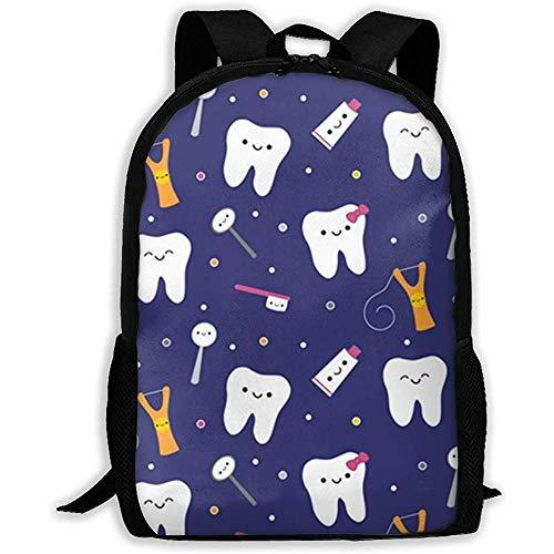 Blauer zahnmedizinischer Gewebe-Zahnpasta-Laptop-Bookbag, Geschäfts-Taschen-Reise, wasserdichte Diebstahlsicherungs-Hochschulschultasche