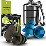 Best Ear Plugs Block Noises - Noise Cancelling Ear Plugs for Sleeping - Reusable Review