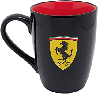 【 Ferrari 】 フェラーリ オフィシャル マグカップ シールド (ブラック)