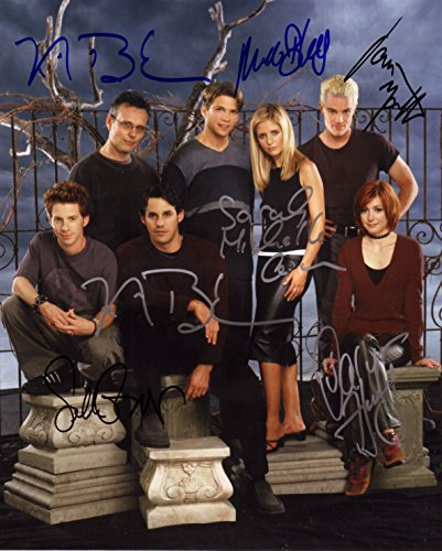Buffy The Vampire Slayer Signiert Autogramme 25cm x 20cm Foto