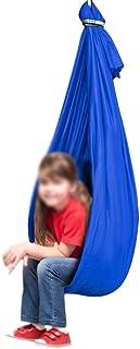 Jlxl Terapi gungor för sensorisk inomhus vuxen, cuddle hängmatta stol idealisk för integration barndom Precious minne, max...