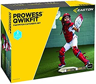Easton Prowess Qwikfit Fast Pitch Catcher's Box Set
