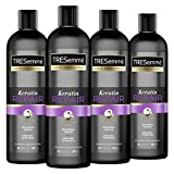 TRESemmé Shampoo for Damaged Hair Keratin Repair Restores and Shields Hair from Damage 20 oz 4 Count