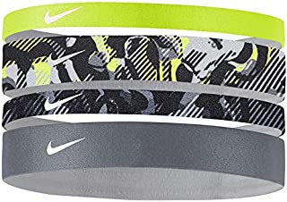 Assorted 4pk Headband Volt/Grey