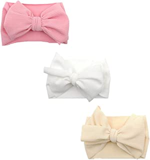 Baby Girls Headbands Turban Knotted Elastic Soft Hair Band Infant Bows Child Hair Accessories for Newborn Toddler