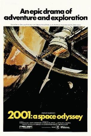 Póster 2001: Una Odisea Del Espacio (68,5cm x 101,5cm)