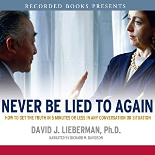 Never Be Lied To Again cover art