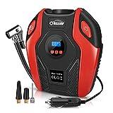 Oasser Compressore Aria Portatile Auto, Mini Pompa Elettrica Ricaricabile P6
