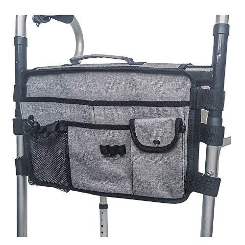 Walker Tas, Duurzame Hoge Kwaliteit Opvouwbare Rollator Walker Accessoires Tas Organizer voor Walker Rollator en Rolstoel