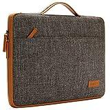 DOMISO 12.5-13 Zoll Laptoptaschen Etui Notebook Sleeve Case Hülle Tasche Schutzhülle mit Grif für 13' MacBook Pro Retina Display / 13' MacBook Air / 12.9' iPad Pro, Braun
