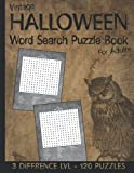 Vintage Halloween Word Search Puzzles Book: Large Print Halloween Activity Book For Adults | Find Spooky and Dark Words Related to Halloween | Great Halloween Gifts and Party Favors for Women, and Men