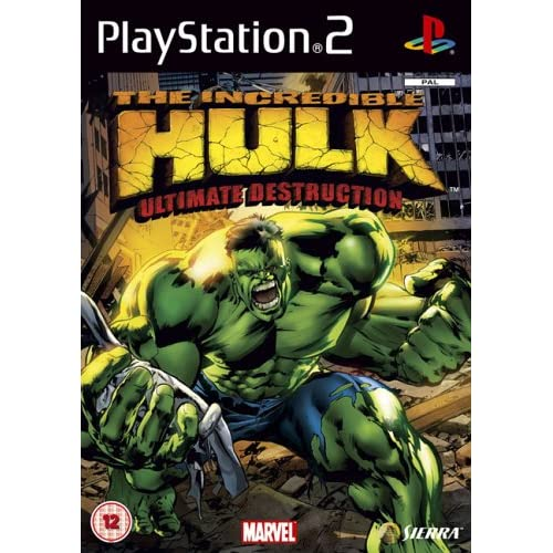 The Incredible Hulk : Ultimate Destruction (PS2)