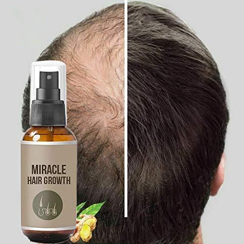 Haarwachstum Serum,Serria® Haarserum Anti-Haarausfall natürliche Kräuteressenz Haarwachstum Spray für dünnes Haar, Verdickung & Nachwachsen Behandlung gegen Haarausfall Haarwurzeln stärken (50ml)