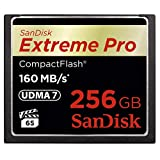 SanDisk Extreme PRO 256GB CompactFlash Memory Card UDMA 7...