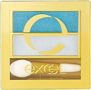 excel(エクセル) エクセル デュアルアイシャドウ N DU04 ターコイズビーチ