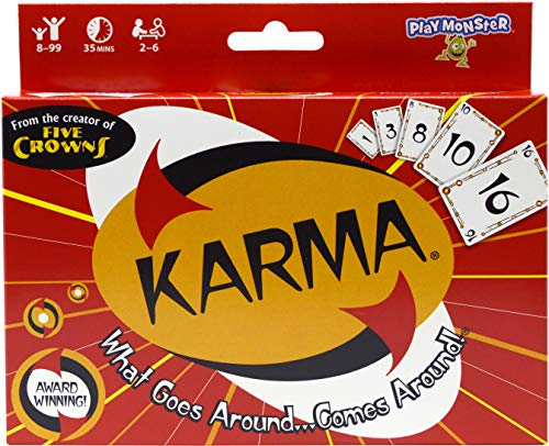 Coiledspring Games Kartenspiel Karma (in englischer Sprache), Mehrfarbig