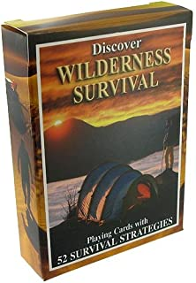 Sea To Sky Wilderness Survival Playing Cards