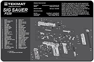 TekMat Cleaning Mat for use with Sig Sauer P229
