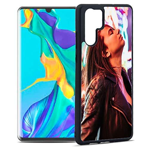 Getsingular Fundas de móvil Huawei P30 Pro Personalizadas con Fotos y Texto | Fundas Negras con los Laterales Flexibles para el Huawei P30 Pro