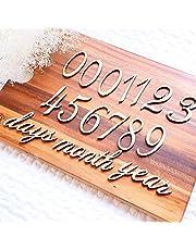 木製レターバナー マンスリー 月齢フォト ニューボーン マタニティ 出産祝い