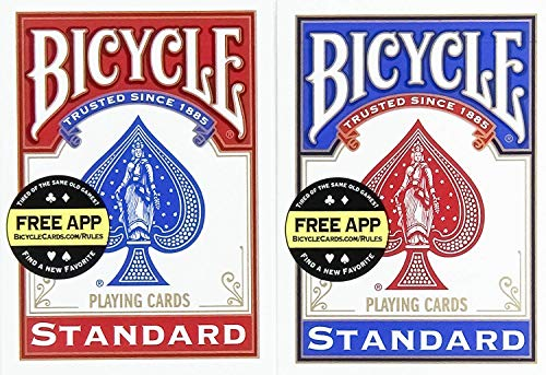 Top bycicle card deck for 2021