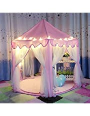 Outdoor Play Tent Portable Foldable Children Castle Play House Kids Gifts