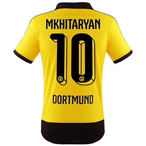 Trikot Puma Borussia Dortmund 2015-2016 Home - Mkhitaryan [Junior 164]