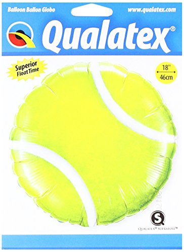 A forma di palla da tennis 45,7cm Mylar balloon party Sports
