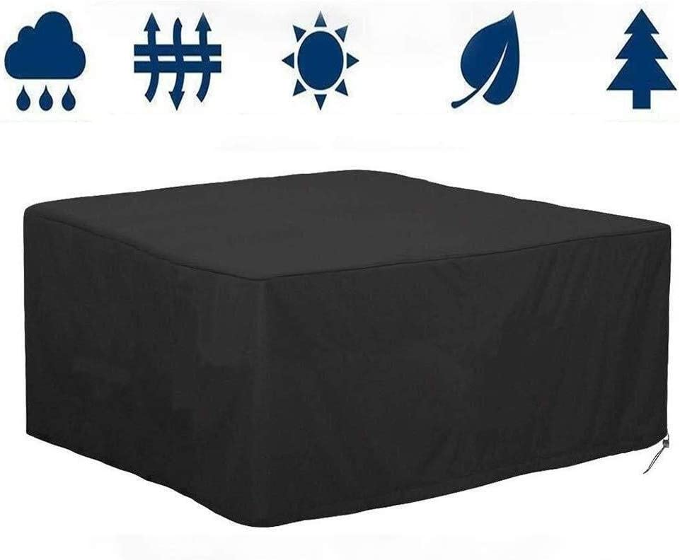 KEANCH Snowproof Max 72% OFF Max 59% OFF Wearable Oxford Covers Furniture Rectang Rattan