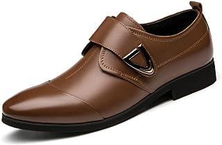 GYPING Boucle d'affaires Chaussures en Cuir pour Homme Chaussures Robe de mariée Printemps Peau de Vache à la Main Urban P...