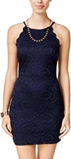 Juniors' Lace Bodycon Dress