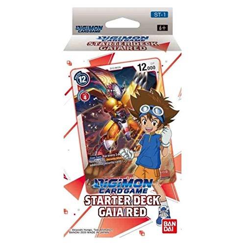 Digimon Kartenspiel: Starter Deck - Gaia Red ST-1