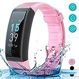 AKASO Fitness Trackers HR with Sleep Monitor, IP68 Waterproof Smart Watch Activity Tracker