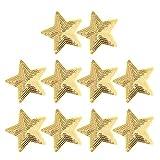 HEALLILY parche bordado estrella apliques insignia tela pentagrama parche hierro...