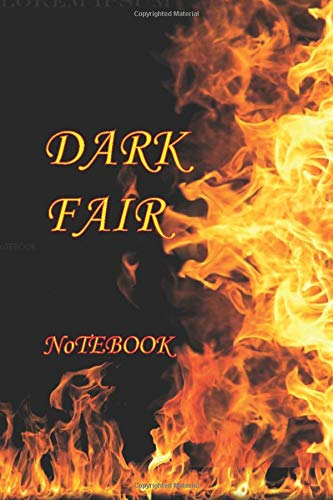 Dark fair Lined Notebook: Dark fair / Lined Notebook /   Journal/Composition Notebook/Diary Gift, 100 Blank Pages, 6x9 inches, Matte Finish Cover