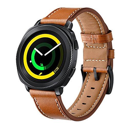 Correa de piel para el reloj inteligente Galaxy Watch