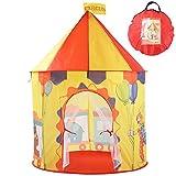 Georgie Porgy Giardino all'aperto del Giocattolo all'aperto dell'interno del Castello Portatile della Tenda del Castello Pieghevole della casa dei Bambini (Circo Giallo)
