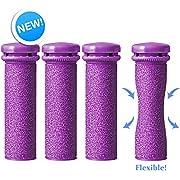 Genuine Emjoi Micro-Pedi Flex Refill Rollers - Xtreme Coarse SoftFLEX - Pack of 4