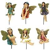Hada del jardín Micro Paisaje en Miniatura Flor Hadas Figur