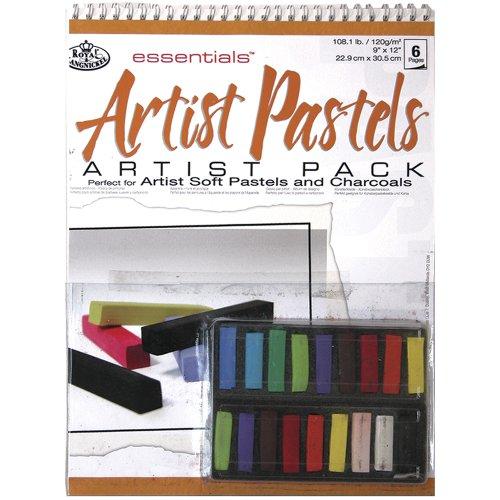 Royal & Langnickel RD-509 Pack bloc Pastels gras Assorties