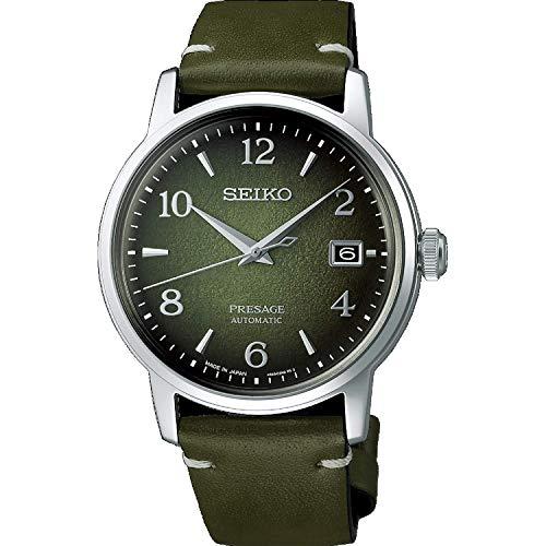 Seiko Presage SRPF41J1 - Reloj automático de acero y piel, edición limitada